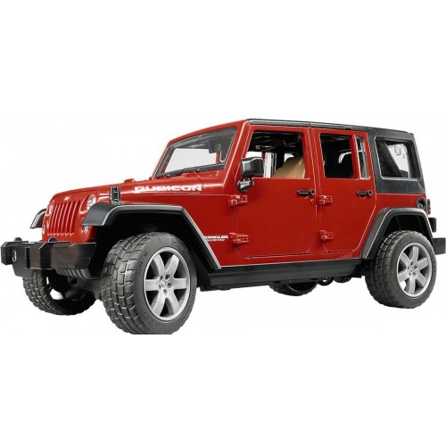 Внедорожник Jeep Wrangler Unlimited Rubicon Bruder 02-525