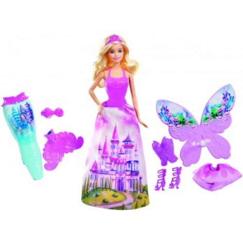 Кукла BARBIE со сказочными нарядами