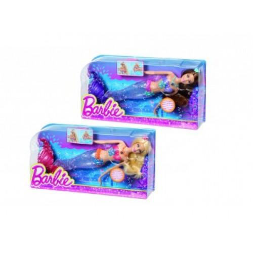 Кукла BARBIE Русалка с сияющим хвостом Barbie 390905
