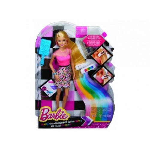 Кукла BARBIE с радужными волосами Barbie 521803
