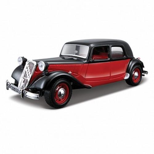 1:24 BB Машина CITROEN 15 CV TA (1938) металл. Bburago 18-22017