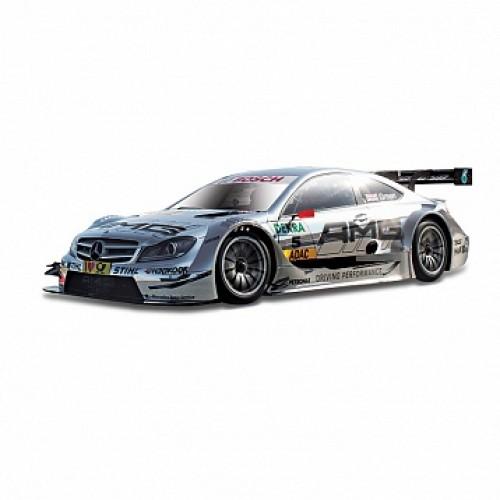 1:32 BB Машина РАЛЛИ DTM-Mercedes AMG C-Coupe (Jamie Green) металл. в пластиковом диспенсере Bburago 18-41154