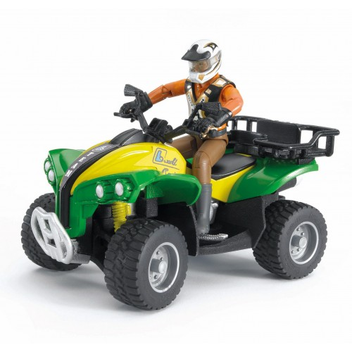 Квадроцикл с гонщиком Bruder 63-000