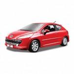 1:24 BB Машина Peugeot 207 металл.