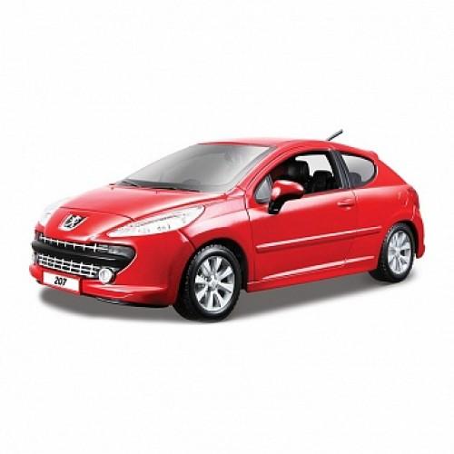 1:24 BB Машина Peugeot 207 металл. Bburago 18-22102