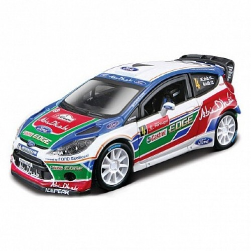 1:32 BB Машина РАЛЛИ - 2011 BP FORD Fiesta S2000 (Яри-Матти Латвала) №4 металл. в пластиковом диспе Bburago 18-41034