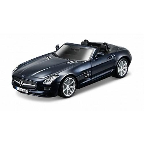 1:32 BB Машина сборка MERCEDES-BENZ SLS AMG Roadster металл. в закрытой упаковке Bburago 18-45135