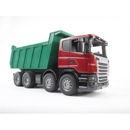 """Самосвал Scania (подходит модуль со звуком и светом """"H"""") Bruder 03-550"""
