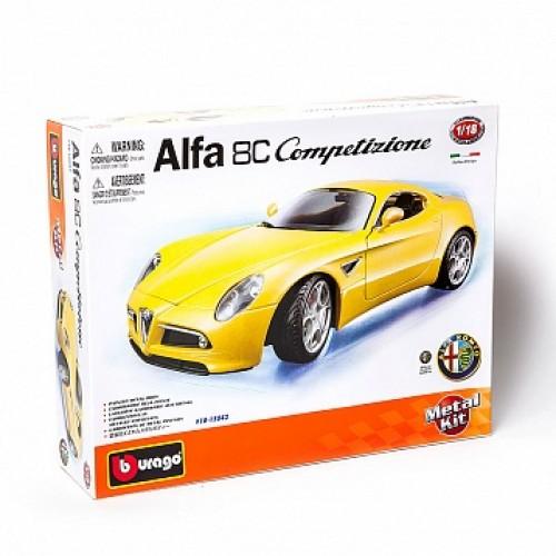 1:18 BB Машина сборка ALFA 8C COMPETIZIONE (2007) металл. в закрытой упаковке
