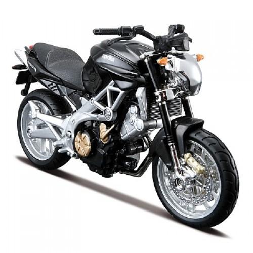 1:18 BB Мотоцикл сборка Aprilia Shiver 750 металл. Bburago 18-55010