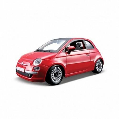 1:24 BB Машина Fiat 500 металл. Bburago 18-22106