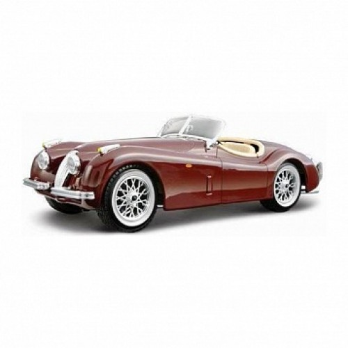 1:24 BB Машина сборка JAGUAR XK 120 ROADSTER (1951) металл. в упак. с окошком Bburago 18-25062