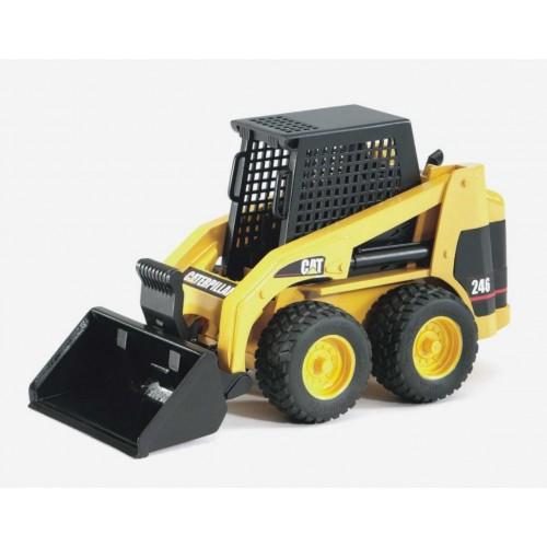Мини Погрузчик колёсный CAT с ковшом Bruder 02-431