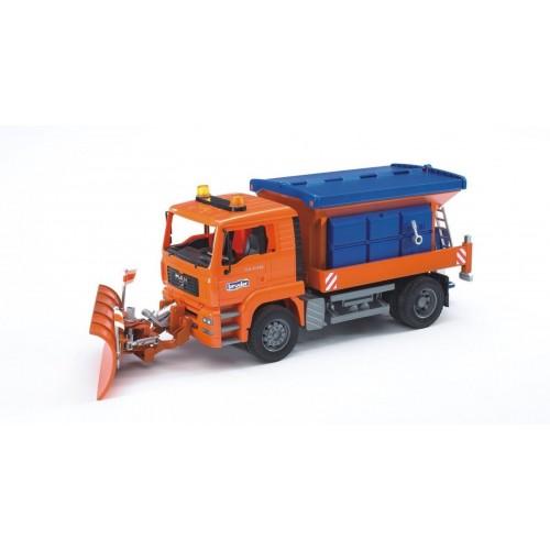 """Снегоуборочная машина MB Arocs (подходит модуль со звуком и светом """"H"""") Bruder 03-685"""