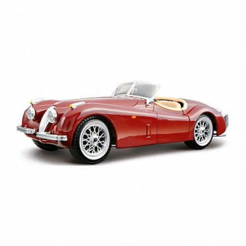 1:24 BB Машина JAGUAR XK 120 ROADSTER (1951) металл. Bburago 18-22018
