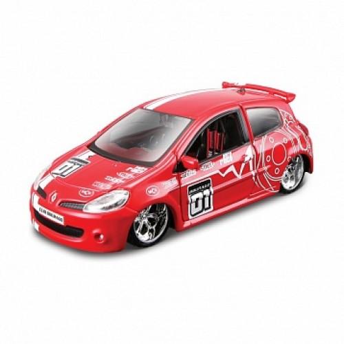 1:32 BB Машина RENAULT CLIO SPORT в пластиковом диспенсере Bburago 18-42006B