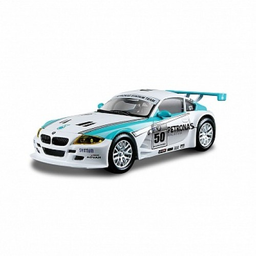 1:43 BB Машина Ралли BMW Z4 M Coupe металл. Bburago 18-38004