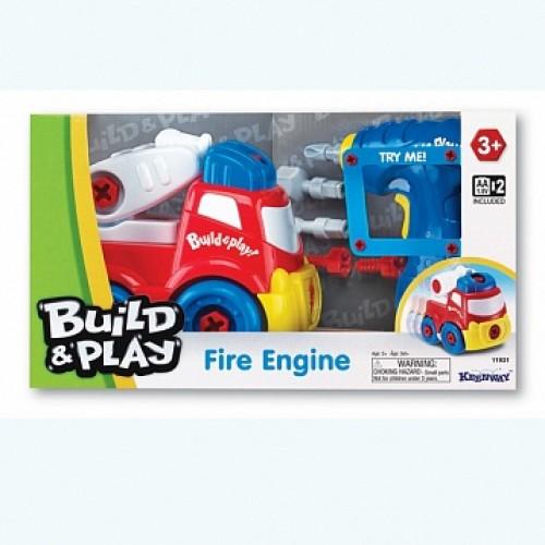Пожарная машина Build & Play Keenway 11935
