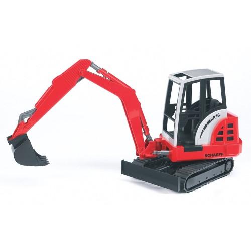Мини экскаватор гусеничный Schaeff HR16 Bruder 02-432