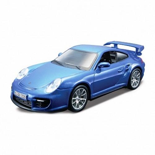 1:32 BB Машина сборка Porsche 911 GT2 металл. в закрытой упаковке Bburago 18-45125