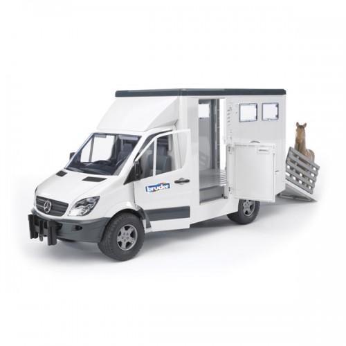 Mercedes-Benz Sprinter фургон с лошадью Bruder (Брудер)