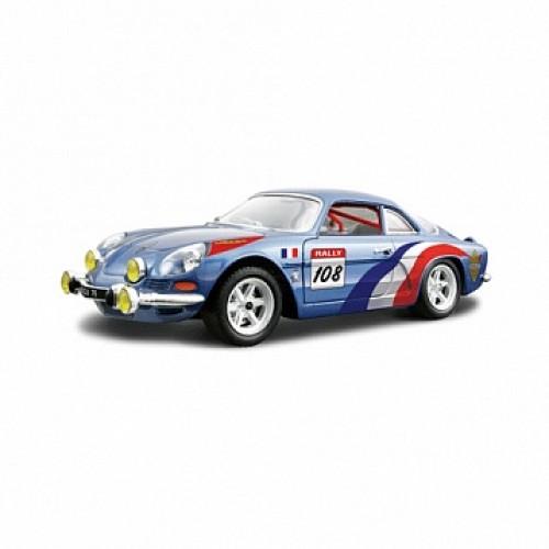 1:24 BB Машина Alpine Renault A110 1600S металл. Bburago 18-22022