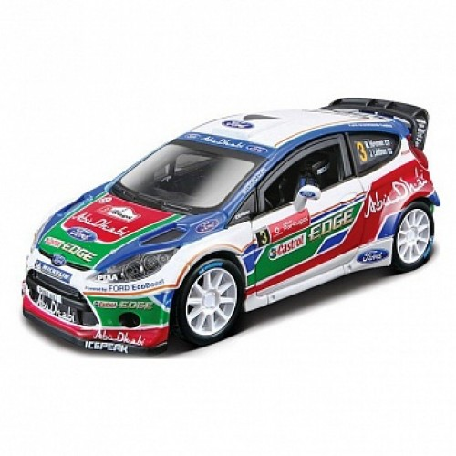 1:32 BB Машина РАЛЛИ -2011 BP FORD Fiesta S2000 (Микко Хирвонен) №3 металл. в пластиковом диспенсе Bburago 18-41035