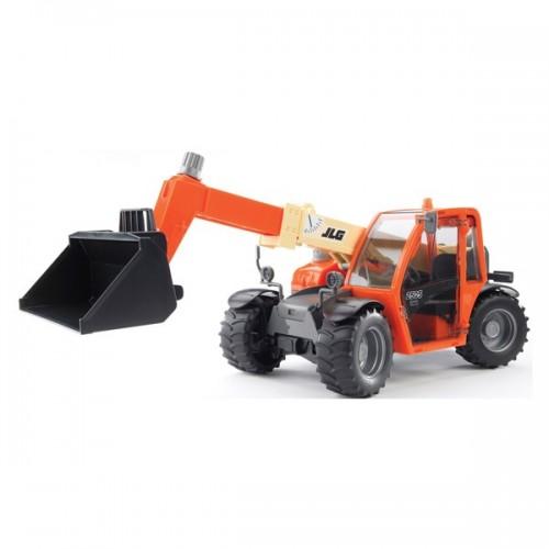 Погрузчик колёсный JLG 2505 Telehandler с телескопическим ковшом Bruder 02-140