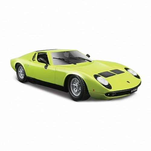 1:18 BB Машина LAMBORGHINI MIURA (1968) металл. Bburago 18-12072