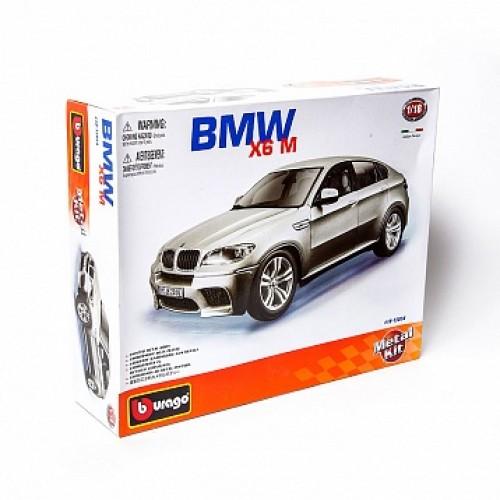 1:18 BB Машина сборка BMW X6M металл. в закрытой упаковке Bburago 18-15054