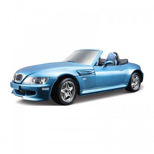 1:24 BB Машина СБОРКА BMW M ROADSTER (1996) металл. в закрытой упаковке Bburago 18-25043