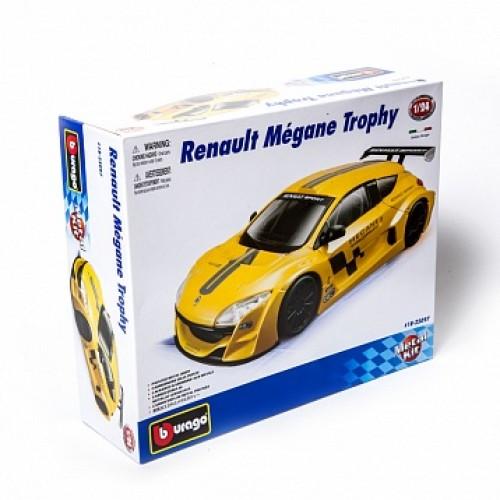 1:24 BB Машина сборка RENAULT Megane металл. в закрытой упаковке Bburago 18-25097
