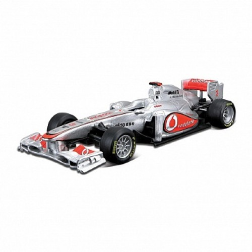 1:32 BB Машина ФОРМУЛА-1 Команда 2011 McLaren MERCEDES-BENZ металл. в пластиковом диспенсере Bburago 18-41203