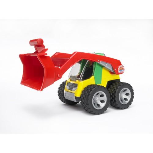 ROADMAX Погрузчик с ковшом и разрыхлителем Bruder 20-106