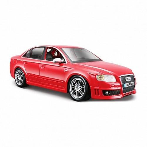 1:24 BB Машина Audi RS4 металл. Bburago 18-22104