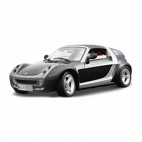 1:24 BB Машина SMART ROADSTER COUPE металл. Bburago 18-22065B