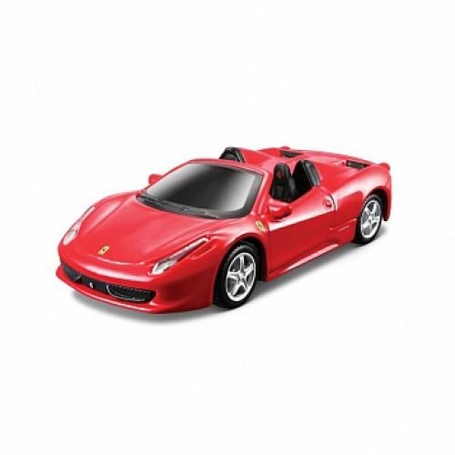 1:43 FER Машина сборка FER. 458 Spider металл. Bburago 18-35226