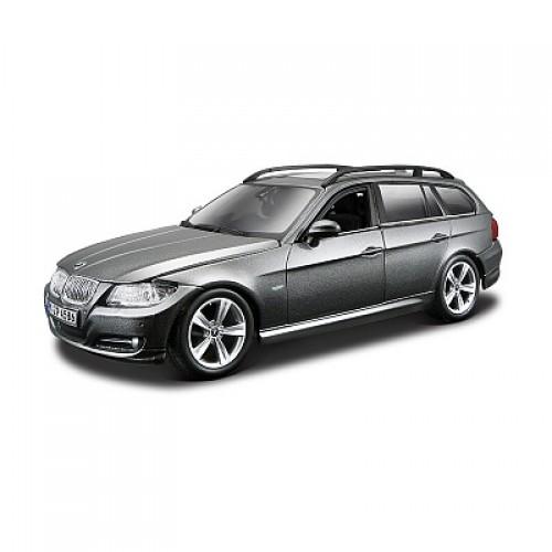 1:24 BB Машина сборка BMW 3 Series Touring металл. в закрытой упаковке Bburago 18-25095