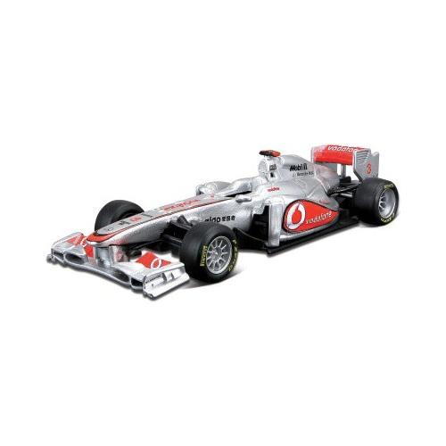 1:32 BB Машина ФОРМУЛА-1 Команда 2012 McLaren металл. в пластиковом диспенсере Bburago 18-41205