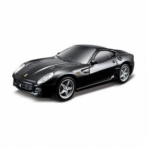 1:43 FER Машина FER. 599 GTB металл. со свет. и звук. с аксессуар. на хедере Bburago 18-31114B