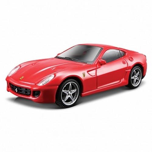 1:43 FER Машина сборка FER. 599 GTB Fiorano HGTE металл. Bburago 18-35204