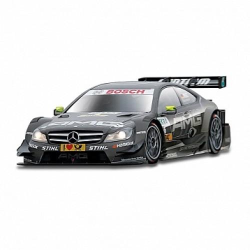 1:32 BB Машина РАЛЛИ DTM-Mercedes AMG C-Coupe (Gary Paffett) металл. в пластиковом диспенсере Bburago 18-41155