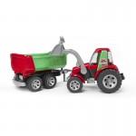 ROADMAX Трактор с ковшом и прицепом Bruder (Брудер)