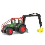 Трактор Fendt 936 Vario лесной с манипулятором Bruder (Брудер)