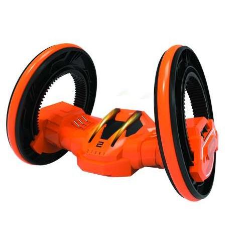 Драйв трюковая двухколёсная машина-перевёртыш на р/у оранжевый 1TOY