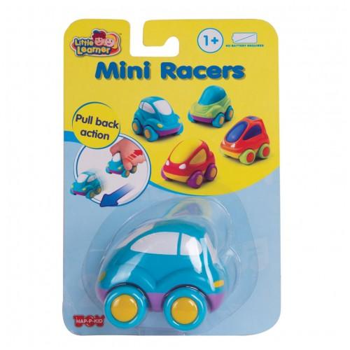 Гоночные машины мини: синяя машинка Hap-p-Kid
