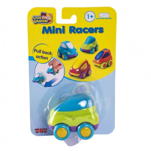 Гоночные машины мини: зеленая машинка Hap-p-Kid