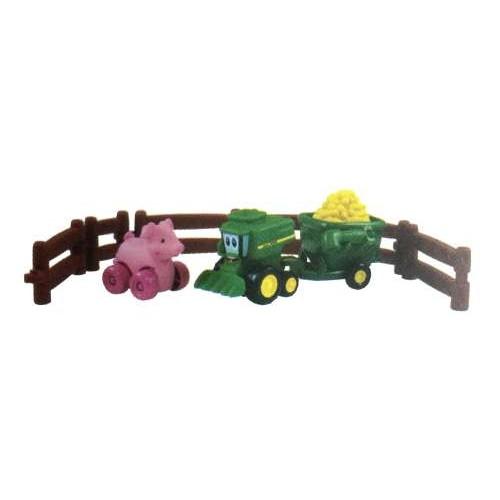 """Игровой набор """"Приключения трактора Джонни и его друзей на ферме"""" John Deere Tomy"""