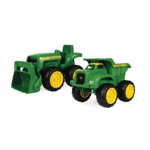 """Игровой набор """"Трактор и самосвал"""" John Deere Tomy"""