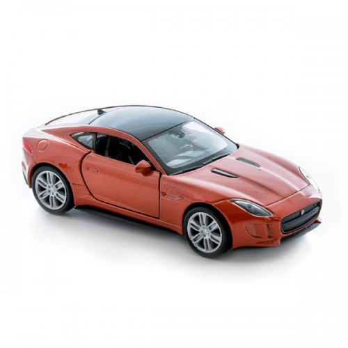 Машинка 1:34-39 Jaguar F-Type Coupe Welly
